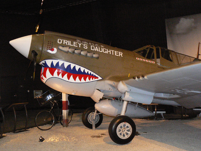 P41 Warhawk at the Museum of Flight - Seattle, Washington