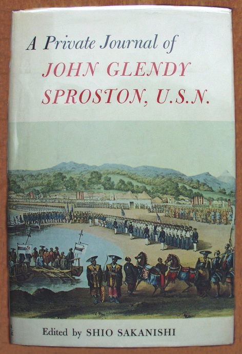 The cover of the 1968 edition of John Glendy Sproston's personal journal